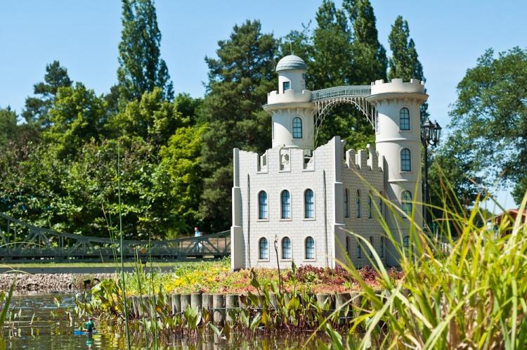 Schloss Pfaueninsel - Modell
