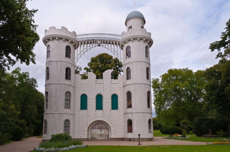 Schloss Pfaueninsel - Original