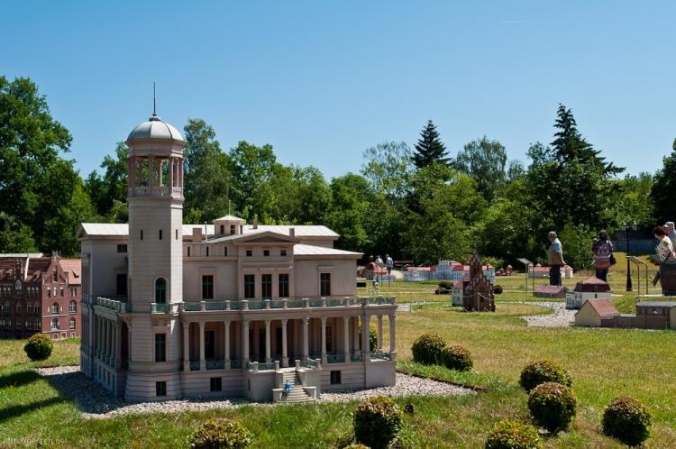 Schloss Biesdorf - Modell