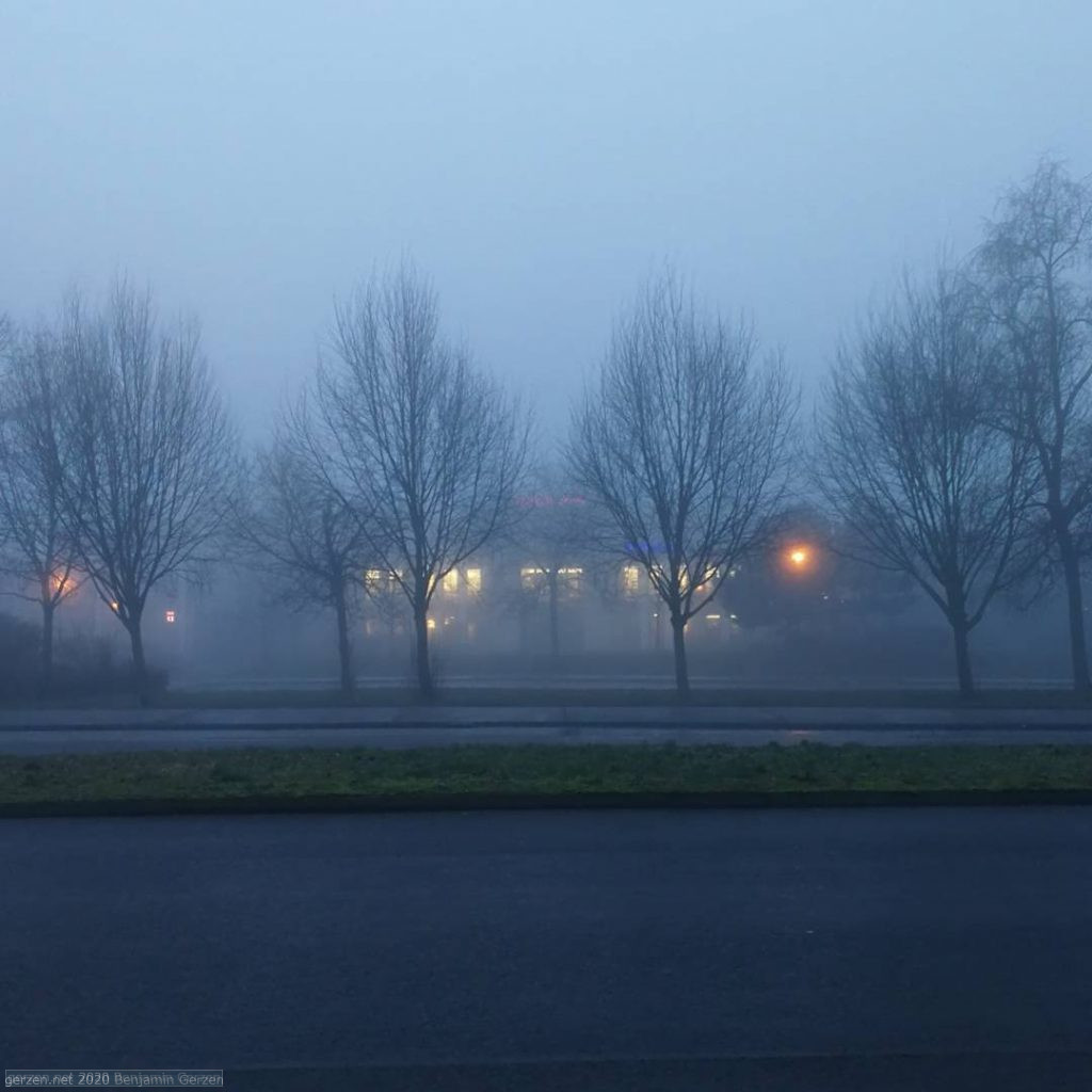 Misty Morning in Marzahn