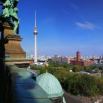 View from Berlin Cathedral on the Alexanderplatz