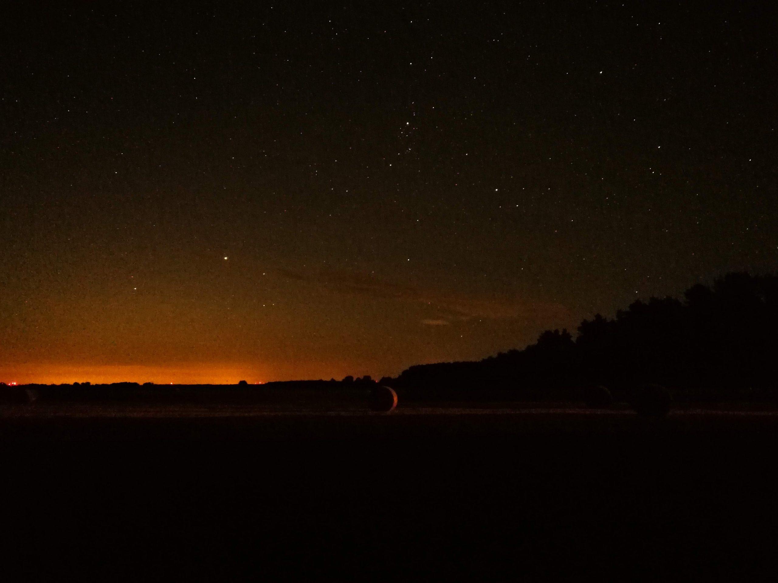 Ночное небо над Германией