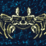 glowing crab