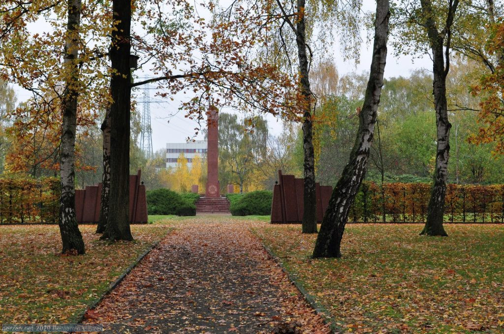 Birch Trees in Front of the Soviet Memorial, Marzahn