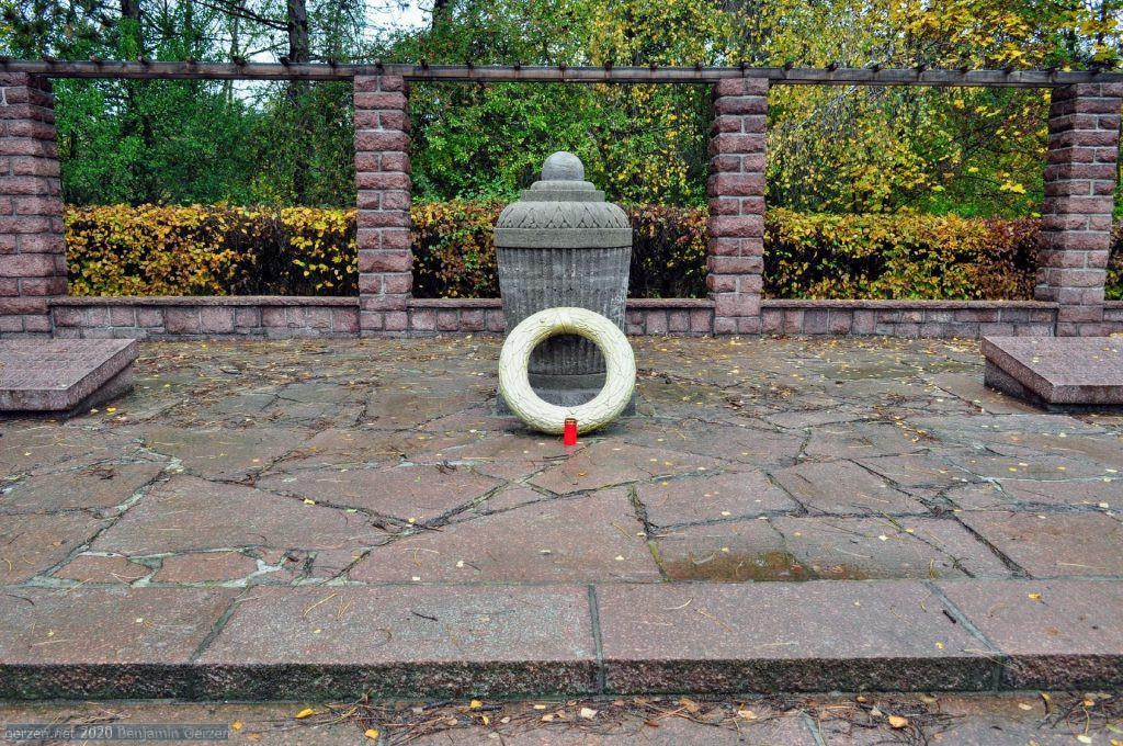 Urn with ashes of Soviet Soldiers in Marzahn