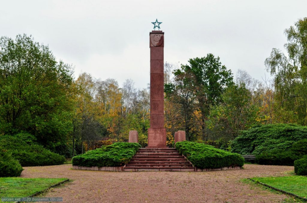 The Stele dedicated to fallen soviet soldiers against Nazi Germany