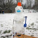 Снег в Берлине